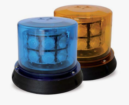 LUCES DESTELLANTE LED COLOR AZUL Nº DE NIVELES 2, 12-24v 2,5Amp